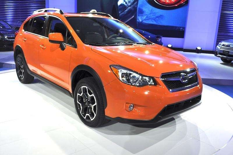 The 2013 Subaru XV Crosstrek debuts at the