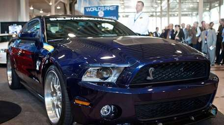 The Shelby GT1000 is introduced at the 2012