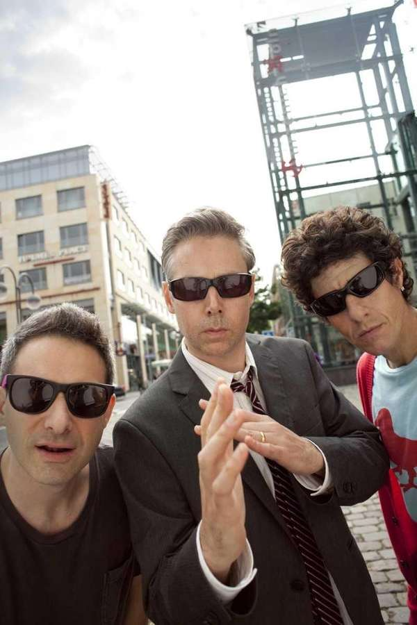 The Beastie Boys, from left, Adam