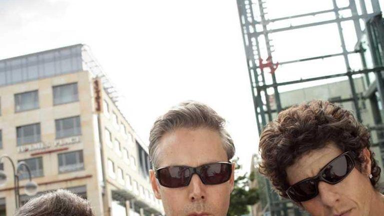 The Beastie Boys, from left, Adam