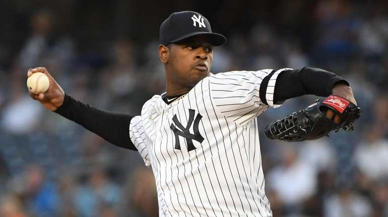 Luis Severino quickly up to speed in first 2019 start as Yankees crush Angels