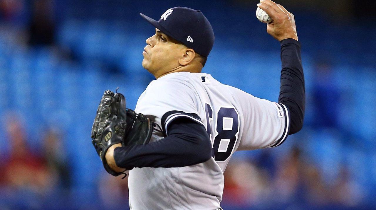 Yankees say Betances has torn Achilles tendon
