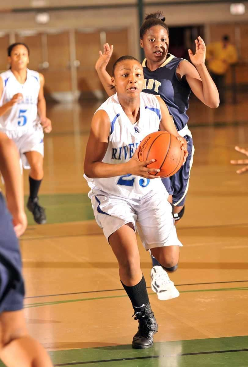 SECOND TEAM Shanice Allen (pictured) Riverhead, Guard, Jr.