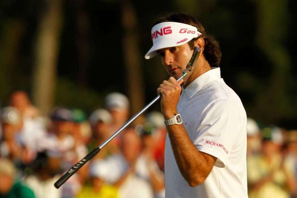 Bubba Watson won the Masters in a playoff.