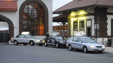 Long Beach taxi companies. (March 2, 2012)