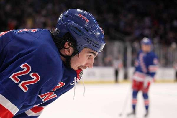 Brian Boyle of the New York Rangers at