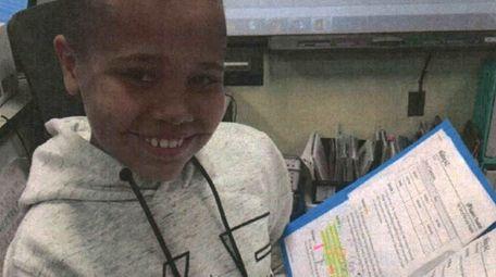 Kidsday reporter Jarell Gilliam of Aquebogue likes Reader