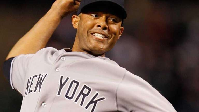 Closer Mariano Rivera of the New York Yankees