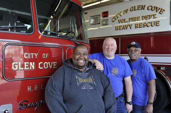Glen Cove Fire Department Chief Rodni Leftwich, Assistant