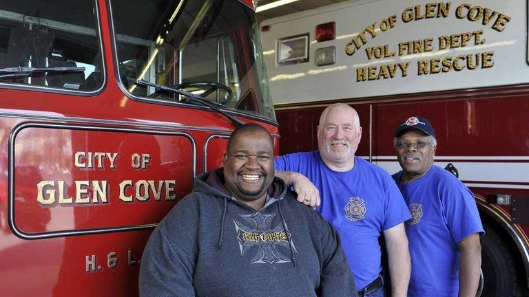 Glen Cove Fire Department Chief Rodni Leftwich, Assistant