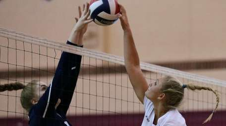 Bay Shore's Ali Susskind is able to power