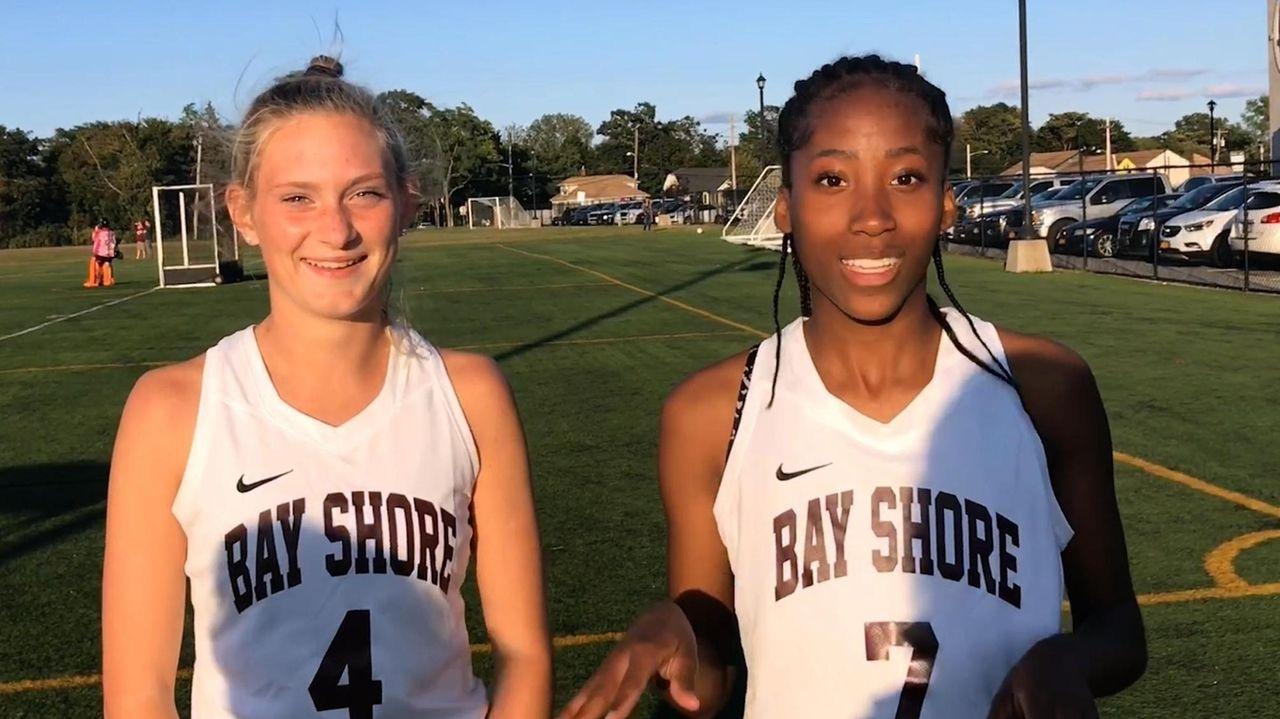Megan Mattfeld and Sydnee Booker went over Bay