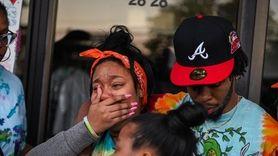Hundreds mourned Khaseen Morris, 16, at a vigil