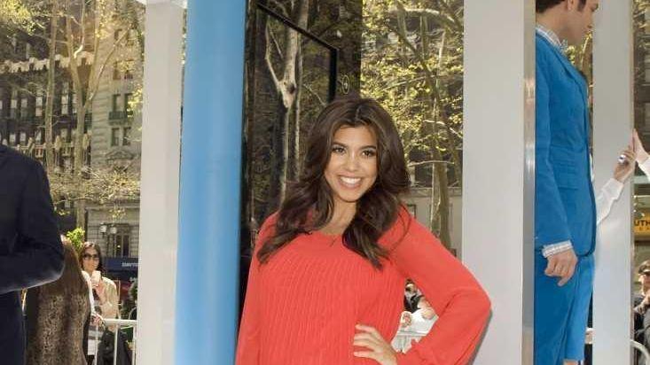 Kourtney Kardashian attends the Windows Phone Free-Time Machine