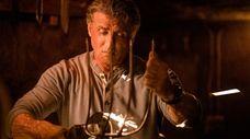 "Sylvester Stallone stars as John Rambo in ""Rambo:"