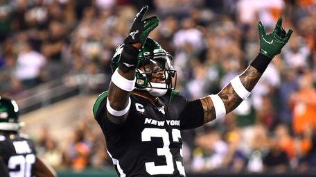 Jamal Adams #33 of the New York Jets