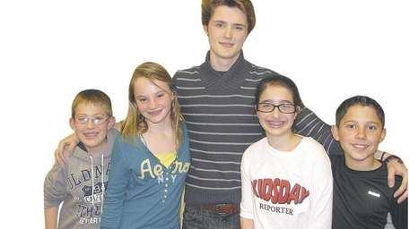 Actor Eugene Simon from the Nickelodeon show