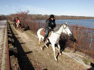 Try horseback riding at Hempstead Lake State Park