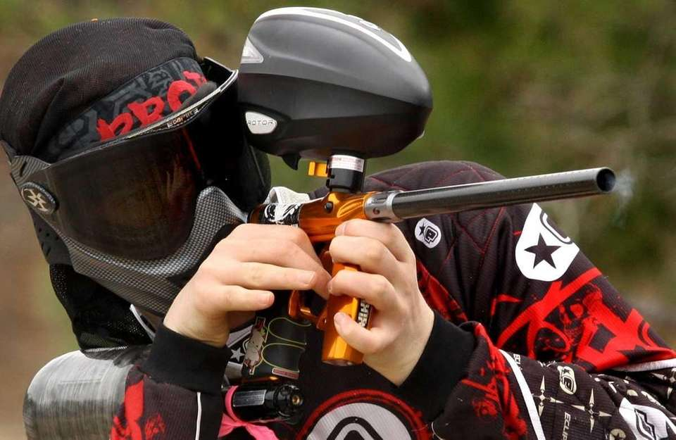 Try a game of paintball at High Velocity