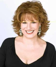 Comedian and talk show host Joy Behar.