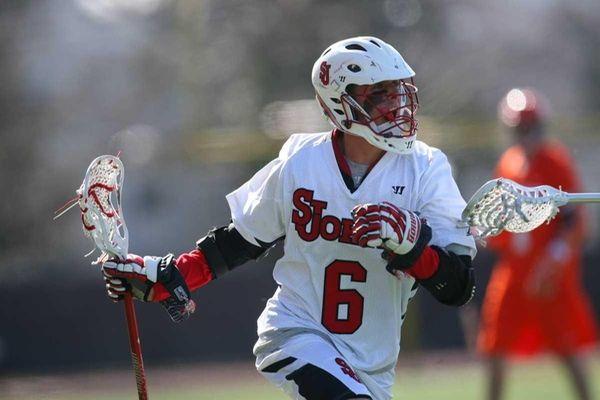St. John's University lacrosse player Kiernan McArdle during