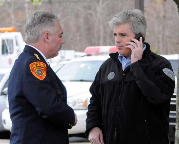 Suffolk County Executive, Steve Bellone, and Suffolk County