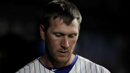Jason Bay #44 of the New York Mets