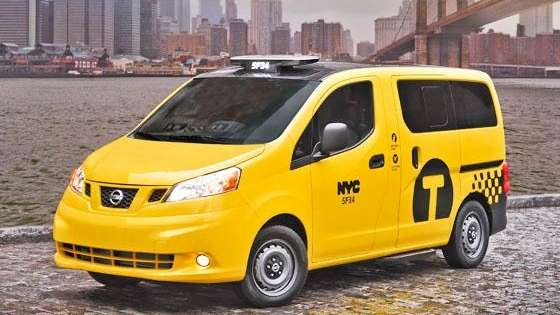 Nissan Nv200 A Look At New Yorks New Taxi Newsday