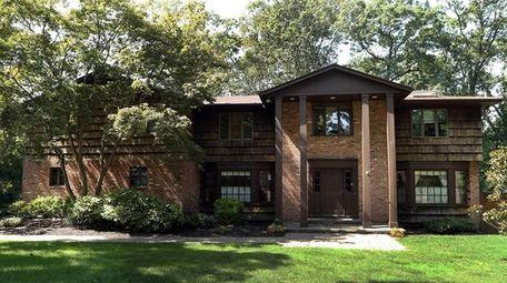 The Dix Hills home.