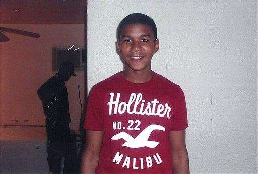 Trayvon Martin in an undated family photo.