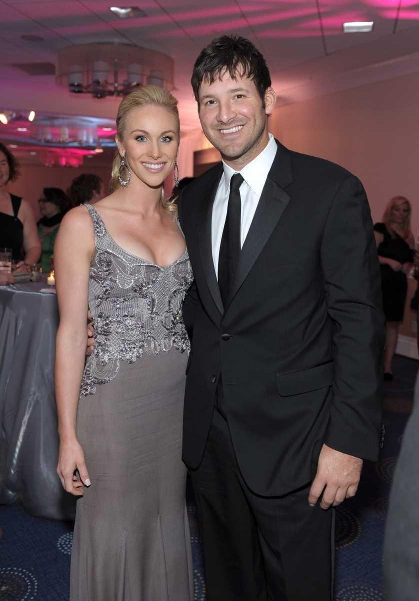 Parents: Tony Romo and Candice Crawford Children: Hawkins,