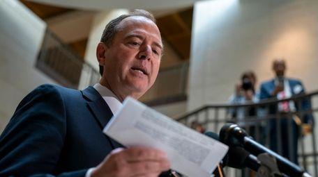 House Intelligence Committee Chairman Adam Schiff (D-Calif.) speaks