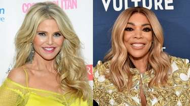 Supermodel Christie Brinkley, left, and talk show host
