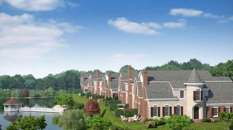 A rendering of Kensington Estates, that will include