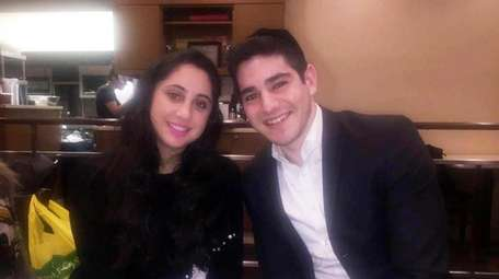 Yisroel Levin, 21, of Brooklyn, right, and his