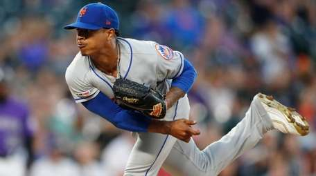 Marcus Stroman, shown here during a masterful start