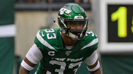 Jets safety Jamal Adams during the second half