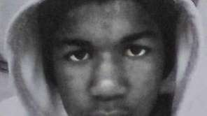 Trayvon Martin is shown in this undated photo.