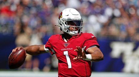 Quarterback Kyler Murray #1 of the Arizona Cardinals