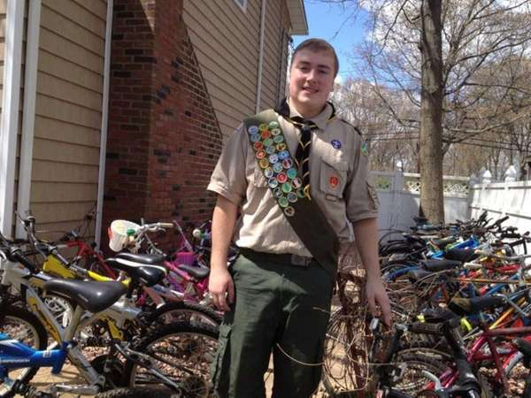 As part of an Eagle Scout project, 17-year-old
