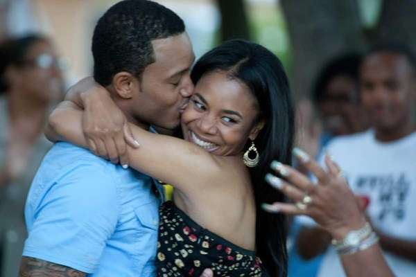 Candace (Regina Hall) and Michael (Terrance J.) in