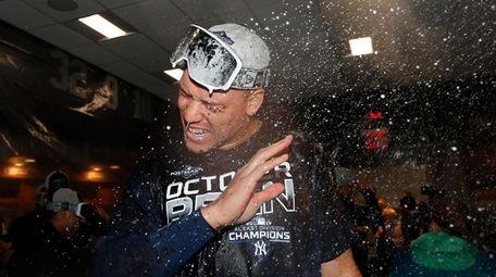 Aaron Judge #99 of the New York Yankees