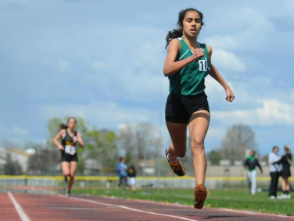 Valley Stream North eighth grader Gabriela Andrade legs