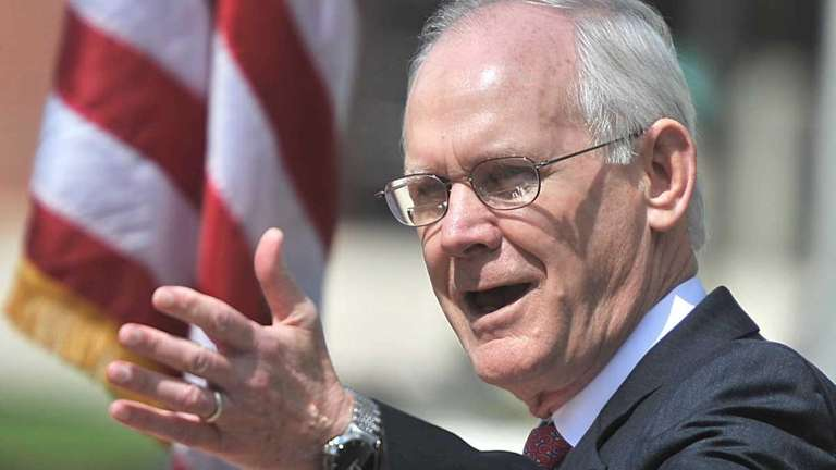 Farmingdale State College president W. Hubert Keen talks