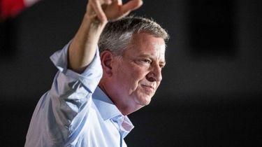 Mayor Bill de Blasio ended his presidential campaign