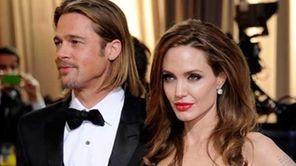 Brad Pitt and Angelina Jolie at the 84th
