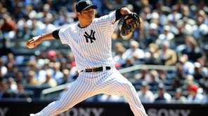 Hiroki Kuroda struck out six, walked two and