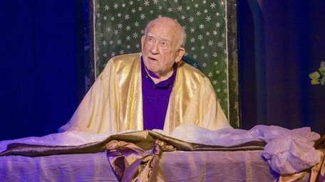 "Ed Asner plays the title role in ""God"