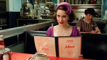 "Rachel Brosnahan in Amazon Prime Video's ""The Marvelous"