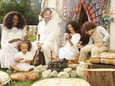 "The cast of ABC's ""mixed-ish' (left-to-right): Tika Sumpter,"